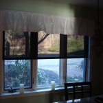 Kitchen Window with Roller Shade
