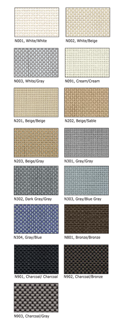 Sun Shades - Fabric Choices with Solarize Window Insulators of Arundel ME